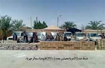 قوات حرس الحدود تواصل جهودها في توجيه ضرباتها القاصمة للعناصر الإجرامية والمهربين وتجار المخدرات