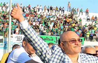 سمير حلبية يهنئ لاعبي المصري على التأهل بالكونفدرالية