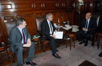 وزير الزراعة يبحث مع سفير بولندا زيادة فرص الاستثمار والتعاون الزراعي بين البلدين
