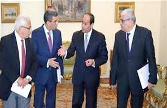 السيسي لرؤساء تحرير الصحف القومية: الإرهاب لم يعد يهدد بقاء الدولة.. وشعب مصر وحده صاحب القرار
