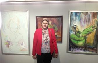 """نهاد خضر: مشاركتي بمعرض """"رابطة مصورات الفنون الجميلة"""" محاولة أولى في التصوير"""