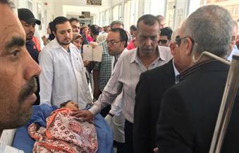 بالأسماء.. مصرع طفلة وإصابة 22 معلمًا فى تصادم أتوبيس بسيارة نقل في بورسعيد |صور