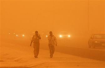 أمطار رعدية مصحوبة بعواصف رملية تضرب محافظة قنا