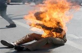إنقاذ مزارع حاول إشعال النيران فى نفسه بأسيوط