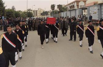 """جنازة عسكرية لشهداء الشرطة في هجوم على """"قول أمني"""" بالمقطم يتقدمها وزير الداخلية"""