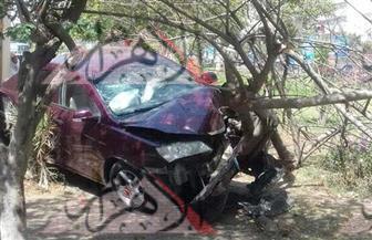 """إصابة ٣ أشخاص في حادث تصادم بـ""""صلاح سالم"""" وكثافات مرورية عالية"""