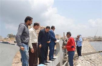 محافظ كفر الشيخ يتابع أعمال إنشاء وتجميل المرحلة الأولى من كورنيش بحيرة البرلس