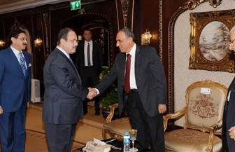 عبد المحسن سلامة: صفحة جديدة بين النقابة ووزارة الداخلية.. وأتمنى لقاء السيسي | صور