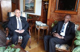 وزير الري يستقبل نظيره الصومالي.. والوفد الإفريقي يتعرف على الإمكانات المصرية في إدارة الموارد المائية | صور