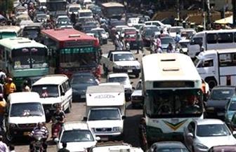 """مرور القاهرة: كثافات مرورية عالية بمصر الجديدة بسبب """"مد الكابلات الكهربائية"""""""