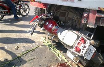 مصرع طالبين وإصابة 11 في حادث تصادم بين 4 دراجات بخارية بالفيوم