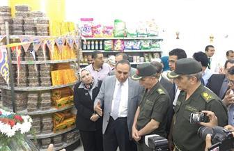 """افتتاح منفذ """"الخدمة الوطنية"""" لبيع السلع الاستهلاكية بنقابة الصحفيين صور"""