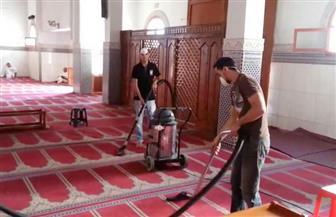الأوقاف تبدأ حملة تنظيف للمساجد استعدادًا لشهر رمضان