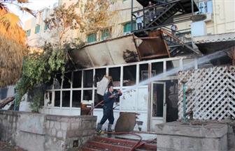 قوات الحماية المدنية تسيطر على حريق في مخزن أخشاب وآخر بأتوبيس لعاملين بالسد العالي