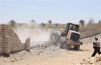 محافظ بنى سويف يقود حملة لإزالة تعديات بمنطقة الـ69 ألف فدان بزمام ببا والفشن
