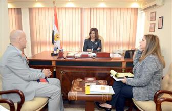 وزيرة الهجرة تبحث مع ممثل صندوق الأمم المتحدة للسكان سبل التعاون لمحاربة الهجرة غير الشرعية