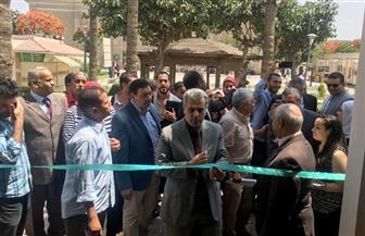 """رئيس جامعة القاهرة: 8 ملايين جنيه تكلفة مبنى الخدمات الطلابية.. و""""الجيزة"""" طلبت إنشاء مدراس على غرار المبني"""