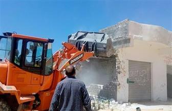 إزالة تعديات على أملاك الدولة فى أحياء المقطم والتبين وحلوان جنوب القاهرة