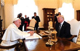 الرئيس الأمريكي يصل إلى الفاتيكان للقاء البابا فرانسيس