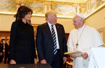 """ترامب للبابا فرنسيس: لقائي بكم """"شرف عظيم للغاية"""""""