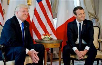 أول لقاء بين ترامب وماكرون في السفارة الأمريكية في بروكسل