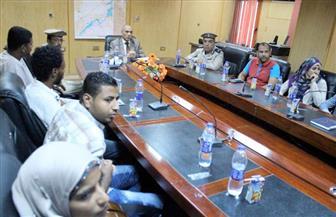 مدير أمن أسوان: إزالة 22793 فدان تعديات على أراضي الدولة | صور