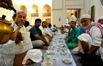 مائدة رمضانية لإفطار 600 صائم بحي الهرم