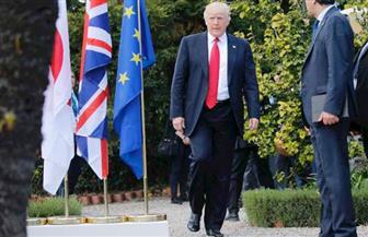 """في ختام قمة مجموعة الدول السبع .. """"ترامب"""" يحضر متأخرًا ويمتنع عن وضع سماعة الترجمة"""