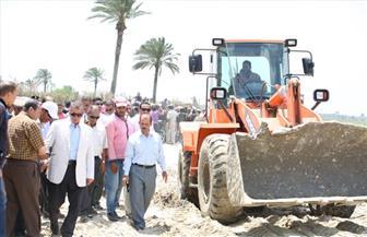 محافظ كفر الشيخ يتابع حملة استرداد حق الشعب |صور