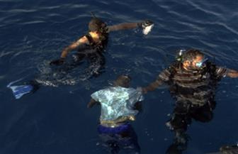 """انتشال جثامين 3 لصيادي مركب """"حورية البحار"""" الغارقة بدمياط"""