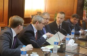 معالجة مياه الصرف الصحي على مائدة مناقشات وزيري الري والموارد الطبيعية في بيلاروسيا | صور