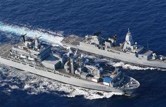 البحرية الألمانية: ضبط سفينة محملة بالأسلحة قرب السواحل الليبية