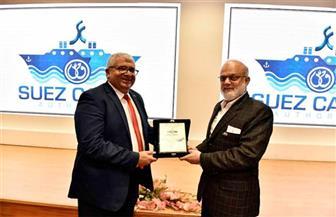قناة السويس تستقبل وفدًا من أكاديمية الحرب الجوية الباكستانية |صور