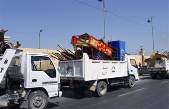 لمواجهة البناء المخالف والإشغالات.. وحدة التدخل السريع بالإسكندرية تشن حملات