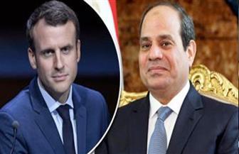 السيسي يبحث هاتفيا مع نظيره الفرنسي التطورات الإقليمية وعلى رأسها الأزمة الليبية