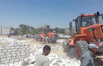 إزالة 60 حالة تعدٍ على أملاك الدولة واسترداد 44 فدانًا و1960 مترًا بأسيوط| صور