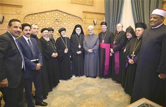 وفد الكنائس الشرقية في أستراليا ونيوزيلاندا: الإمام الأكبر أصبح أيقونة للسلام | صور
