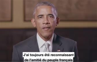 تدخل نادر في الانتخابات الفرنسية.. أوباما يدعم ماكرون في اللحظات الأخيرة قبل جولة الإعادة أمام المتطرفة لوبان
