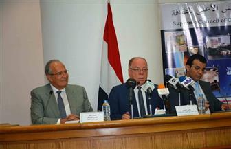 خلال لقائه بوزير التنمية المحلية.. النمنم: نأمل أن نصل بالكتاب لكل مواطن مصري
