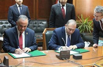 وزير بيلا روسيا يغادر القاهرة بعد اتفاقات على تعزيز التعاون مع 5 وزارات | صور