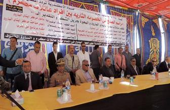مدير أمن البحيرة يحضر جلسة صلح بين أبناء عمومة بايتاى البارود