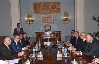 اجتماع مشترك لوزيري الخارجية والموارد المائية للتنسيق بشأن ملف مياه النيل