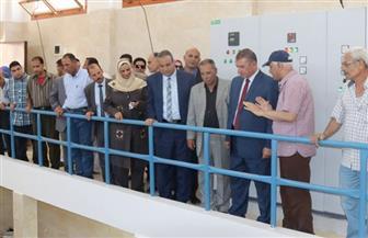 اقتتاح رافع مياه في كفر الشيخ بتكلفة 10 ملايين جنيه لخدمة 100 ألف نسمة بالجزيرة الخضراء