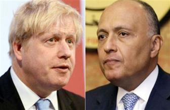 وزير الخارجية يتلقى اتصالًا هاتفيًا من نظيره البريطاني ويبحثان أبرز تطورات الأوضاع في ليبيا وسوريا