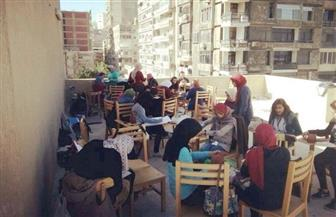 """طلاب على أسطح المباني.. وأماكن دراسة متهدمة.. و""""الاسم"""" فنون جميلة جامعة الإسكندرية"""