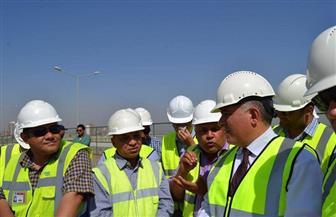 وزير الري يتفقد أعمال قناطر أسيوط الجديدة ومحطتها الكهرومائية | صور