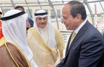 قمة مصرية كويتية تتناول توسيع آفاق التعاون الثنائي في مختلف المجالات