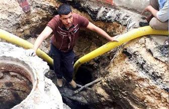 محافظ الشرقية: إنهاء أعمال إصلاح ماسورة المياه العمومية أمام المعهد الديني بالحسينية