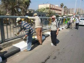 استمرار حملات النظافة ورفع الإشغالات من الشوارع بمختلف مراكز ومدن الشرقية