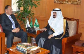 مذكرة تفاهم مشتركة بين جامعتي نايف العربية للعلوم الأمنية السعودية وقناة السويس| صور